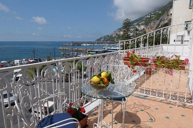 Best Amalfi Town Hotels - Hotel Residence - View