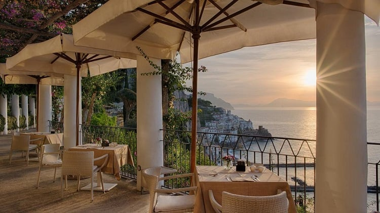 Best Amalfi Town Hotels - NH Collection Grand Hotel Convento di Amalfi -View