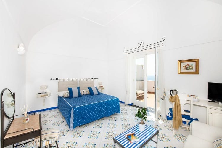Best Hotels Positano - Alcione Residence - Rooms