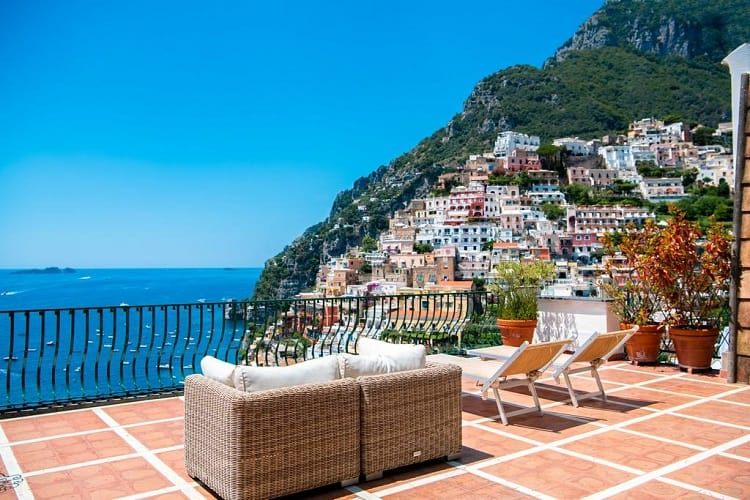 Best Hotels Positano - Alcione Residence - View