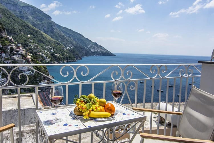 Best Hotels Positano - Hotel Reginella - View