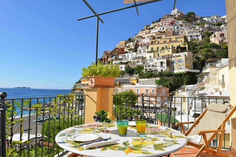 Best Hotels in Positano - Bucca Di Bacco - View