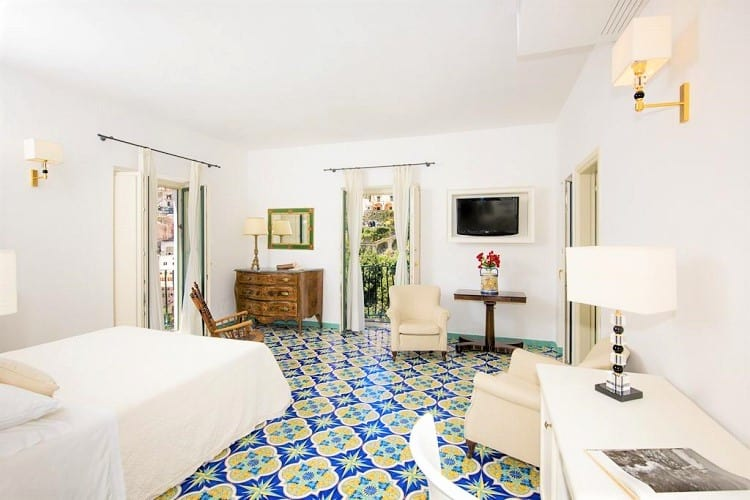 Best Hotels in Positano - Hotel Savoia - Room