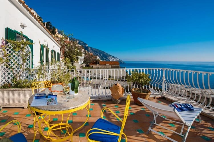 Best Positano Hotel Options - Villa Delle Palme - View