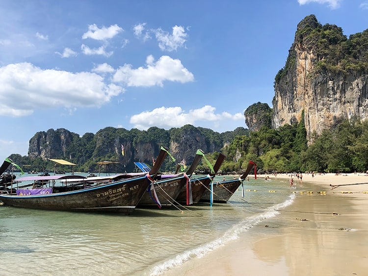 Day Trip to Railay Beach Krabi