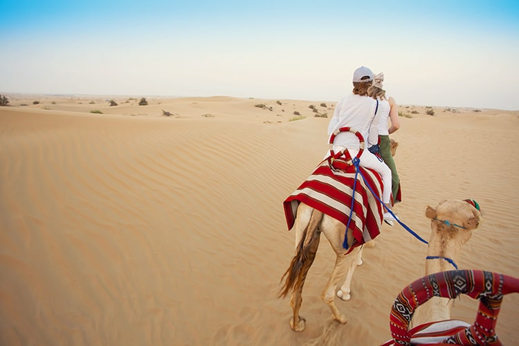 Dubai vacation with teenagers