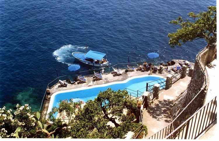 Hotel Luna Convento - Best Hotels in Amalfi Town - View