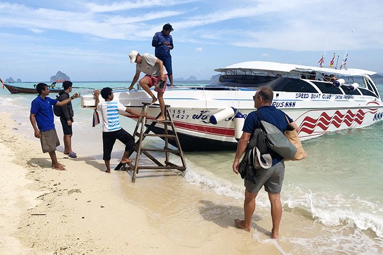 How to get to Koh Kradan Trang Thailand