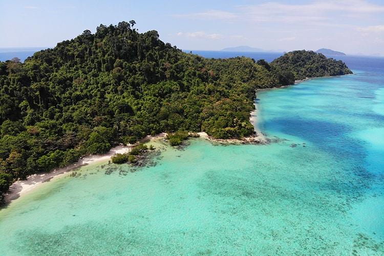 Koh Kradan Island in Trang Thailand