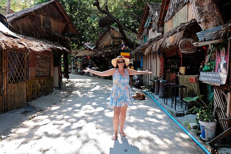 Koh Lipe Walking Street in Thailand