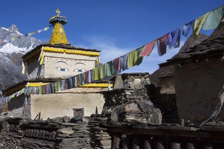 Manaslu Gompa Nepal