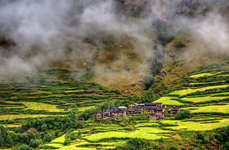 Manaslu Nepal Natural Beauty