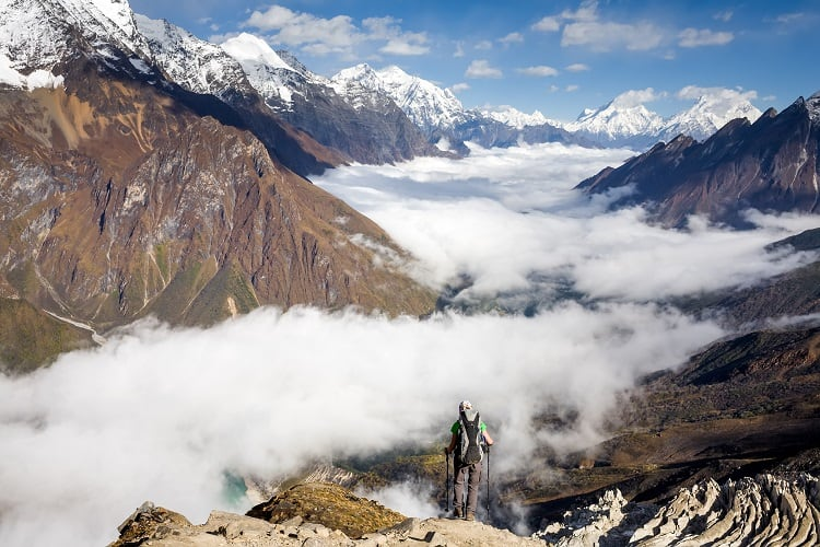 Manaslu Trek View