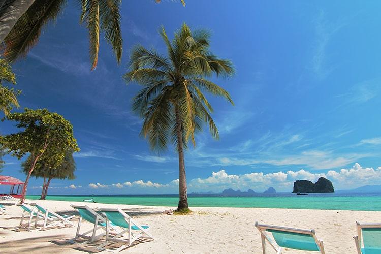 Paradise beach aKoh Ngai Thailand