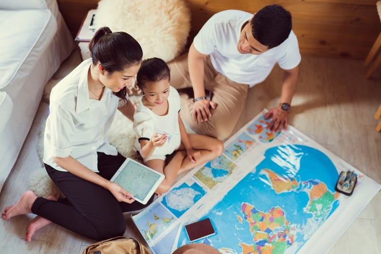 Planning for your next family vacation