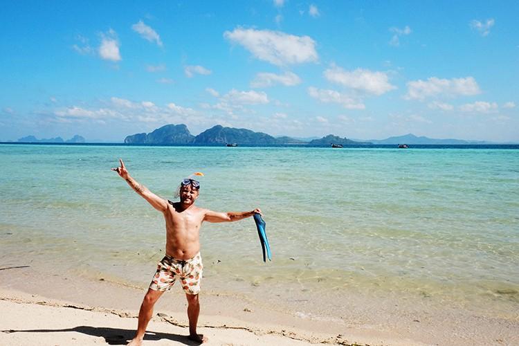 Snorkeling at Koh Kradan Island Thailand