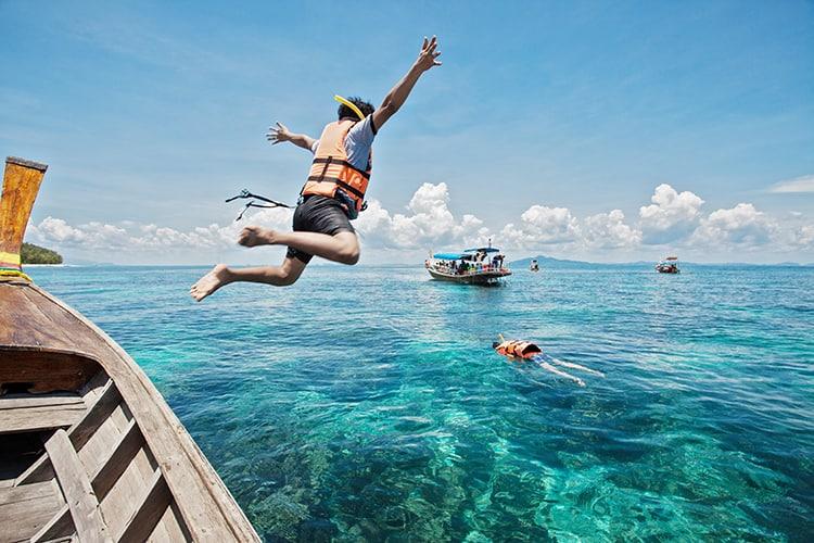 Snorkeling in Khao Lak
