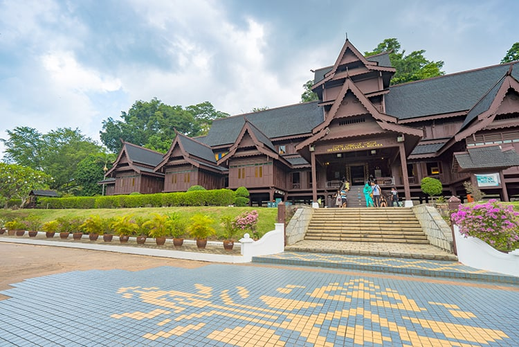 The Malacca Sultanate palace Museum