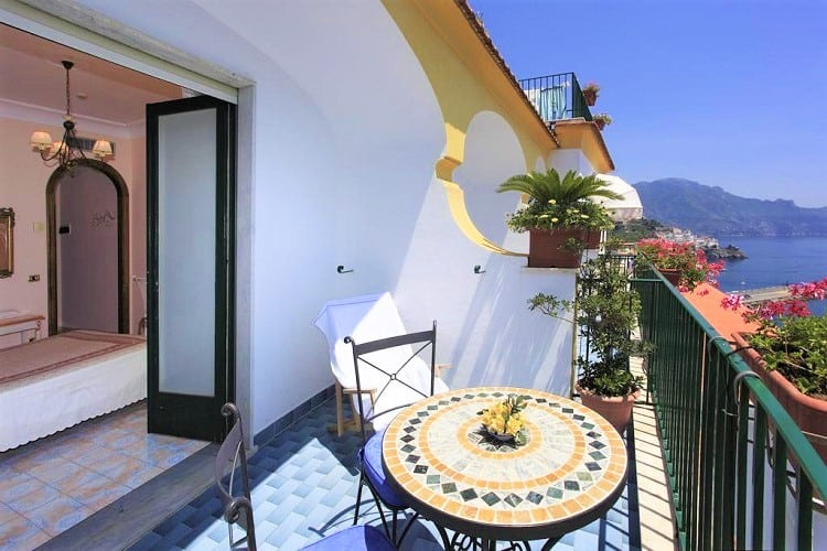 Top Amalfi Town Hotels - Hotel Il Nido - View