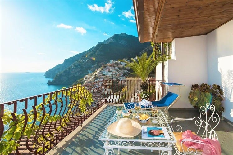 Top Hotels in Positano - Hotel Eden Roc - View