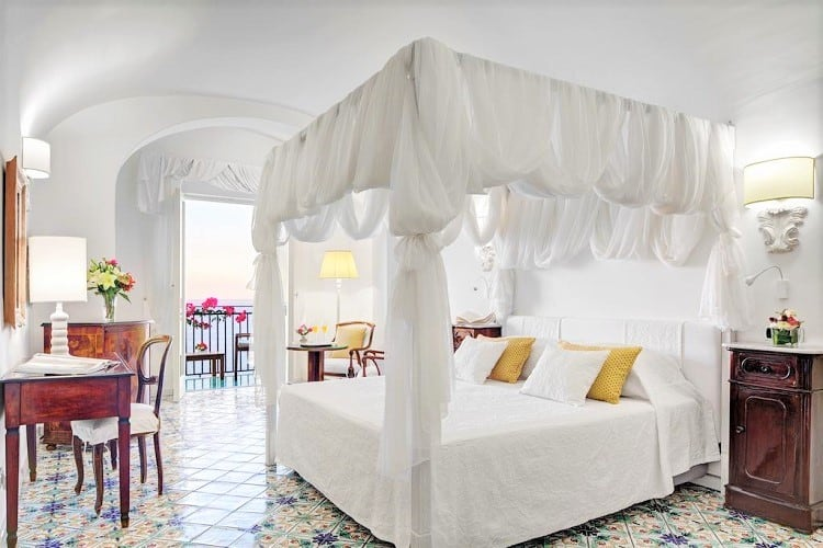 Top Rated Amalfi Town Hotels - Hotel Santa Caterina - Room