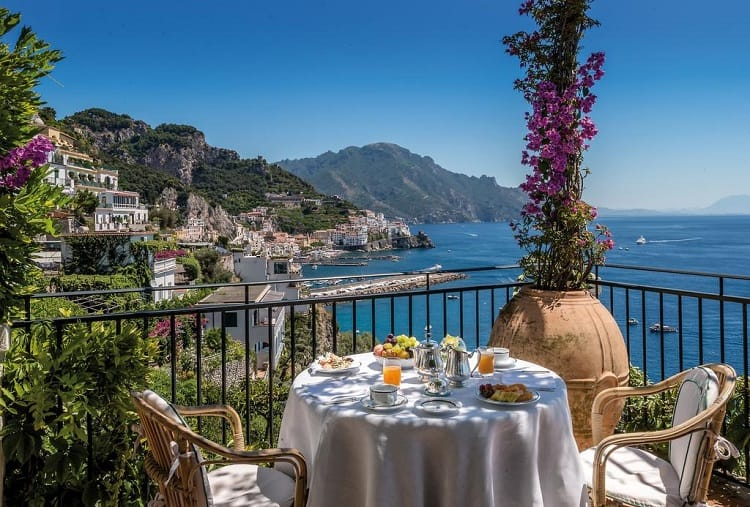 Top Rated Amalfi Town Hotels - Hotel Santa Caterina - View