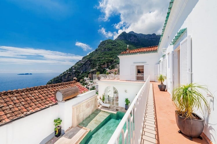 Top Rated Hotels in Positano - Villa Magia - View