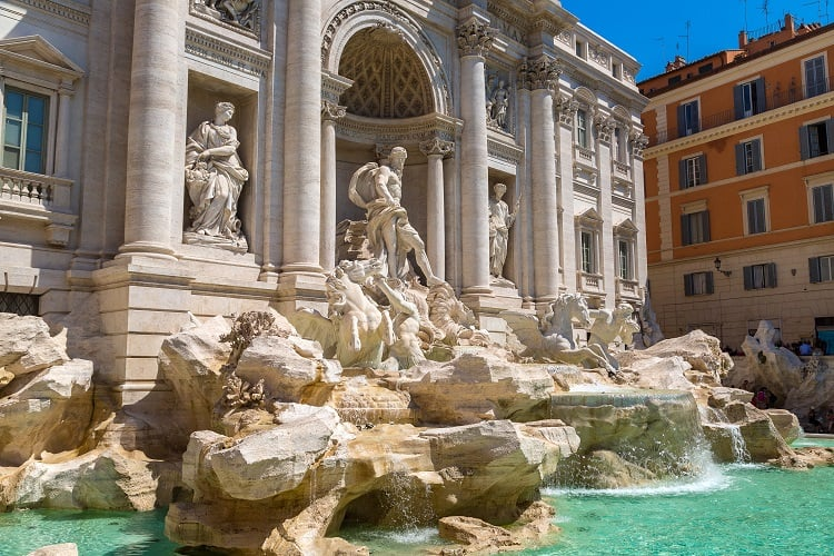 2 Days in Rome - Trevi Fountain