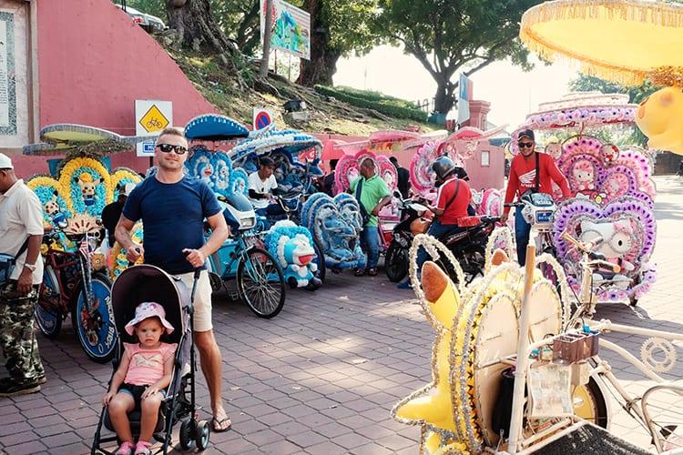 Trishaw Ride Melaka Travel Guide
