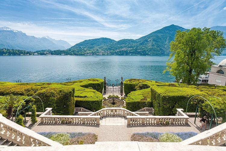 Villa Carlotta and gardens in Tremezzo, Lake Como, Lombardy, Nor