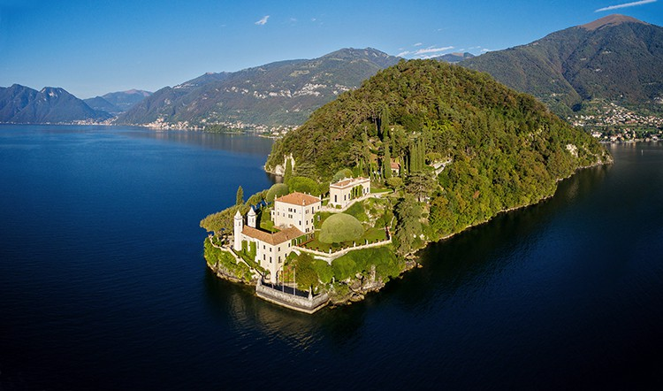 Villa del Balbianello Lenno Lake Como
