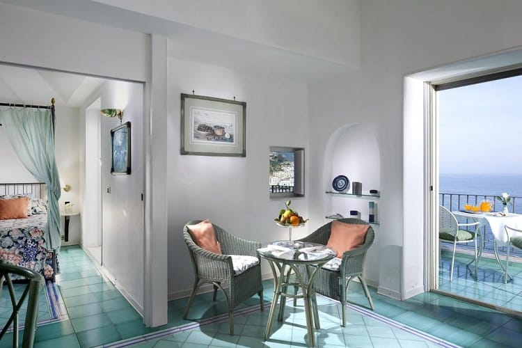 Where to stay in Amalfi Town - Best Amalfi Hotels - Hotel Miramalfi - Room