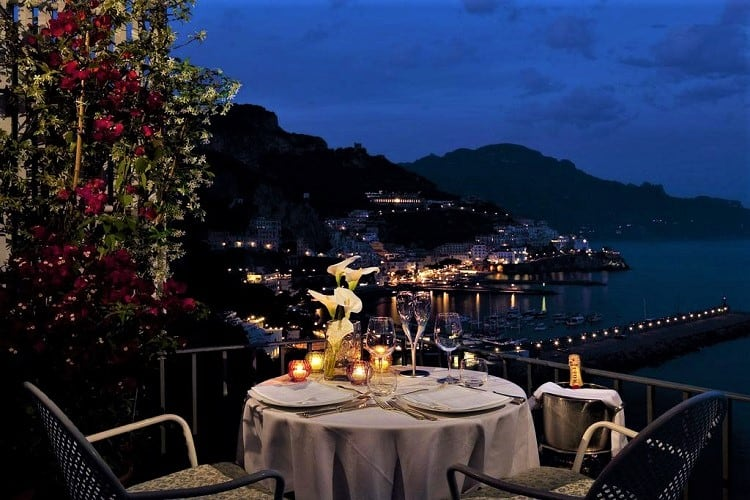 Where to stay in Amalfi Town - Best Amalfi Hotels - Hotel Miramalfi - View
