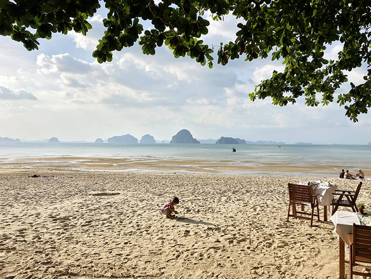 best beach in krabi