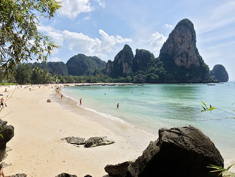 best beaches near krabi