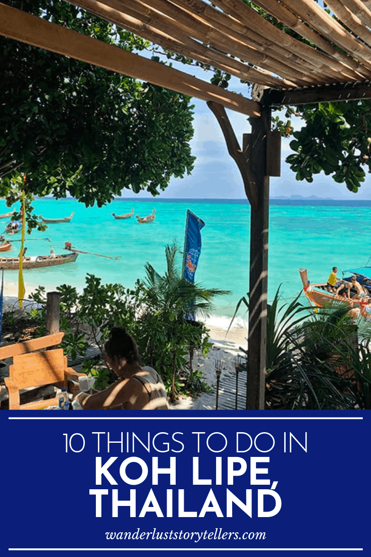 What to do in Koh Lipe