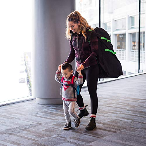Car Seat Travel Bag Carts, Zohzo Adjustable Padded Bag For Car Seat