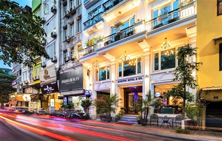 Acoustic Hotel & Spa - Best hotels in Hanoi Vietnam - View