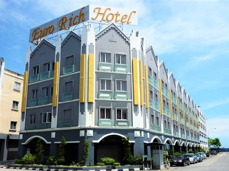 Euro Rich Hotel - Top Budget Melaka Hotels