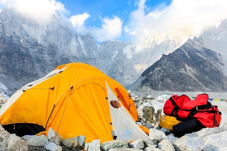 Everest Base Camp Trek - Camp