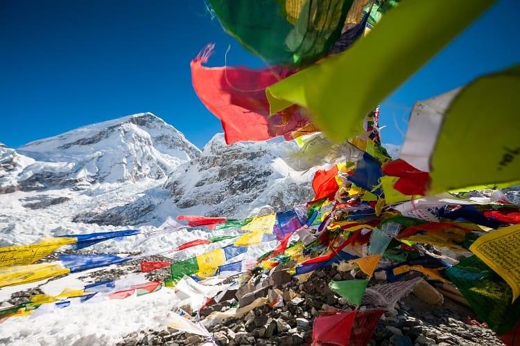 Everest Base Camp Trek - Flags