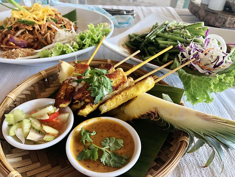 Food on Koh Yao Noi Island