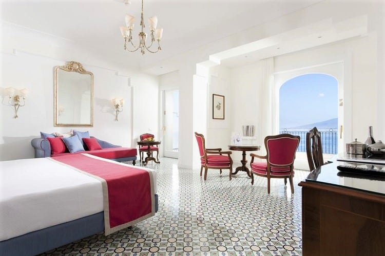 Grand Hotel Ambasciatori - Top hotels in Sorrento Italy - Room