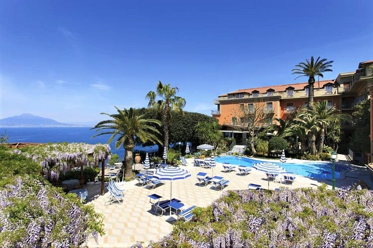 Grand Hotel Ambasciatori - Top hotels in Sorrento Italy - View