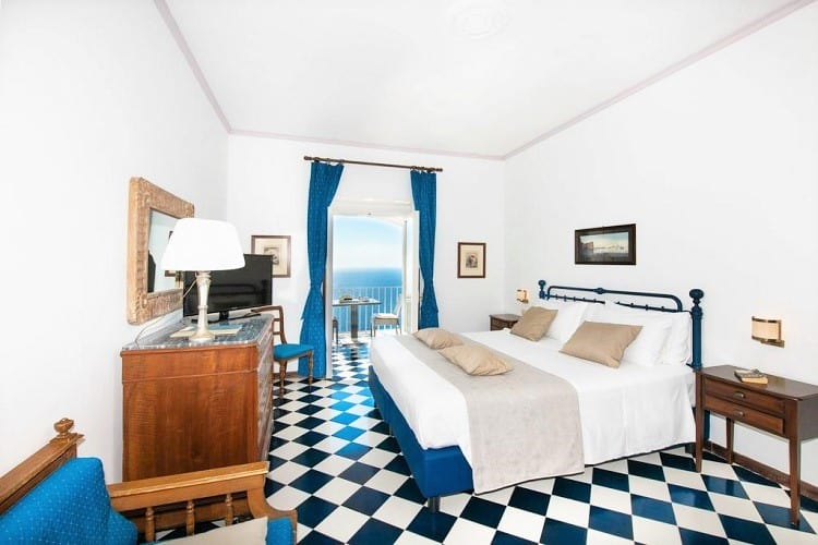 Grand Hotel Tritone - Best Praiano Hotels - Room