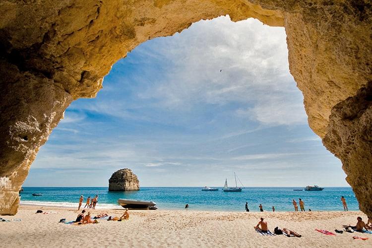 Honeymoon in Algrave Portugal