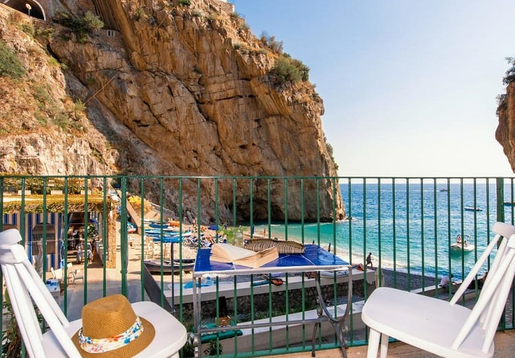 Hotel Alfonso A Mare - Best Hotels in Praiano - View
