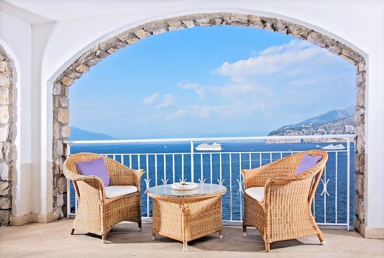 Hotel Belair - Best hotels in Sorrento Italy - View