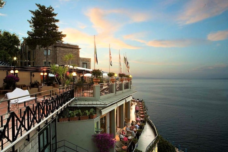 Hotel Bristol - Best Hotels in Sorrento Italy - View