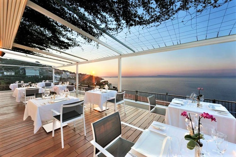 Hotel Continental - Best hotels in Sorrento Italy - View